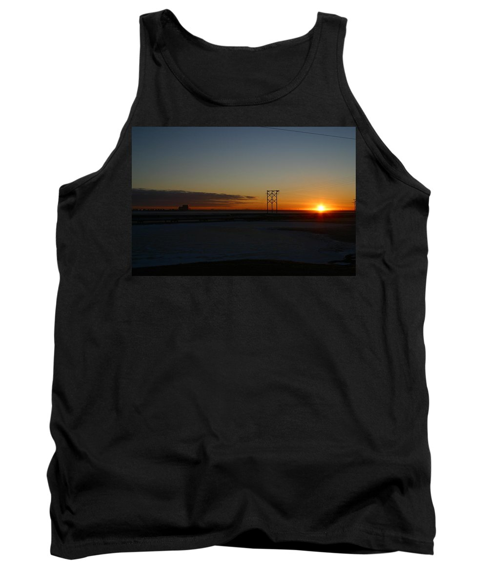 Sunrise Tank Top featuring the photograph Early Morning Sunrise by Anthony Jones