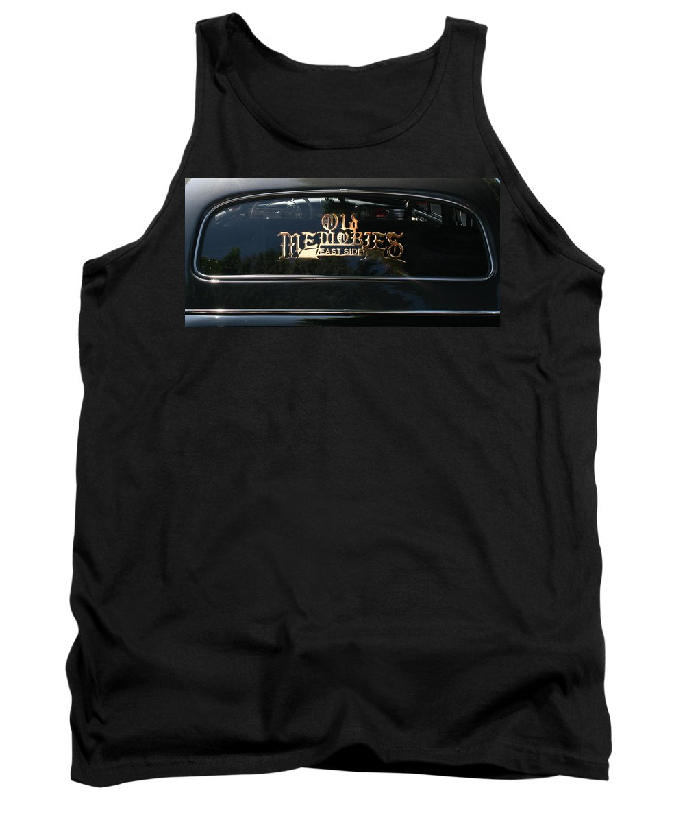 Photograph Tank Top featuring the photograph East Side by Gwyn Newcombe