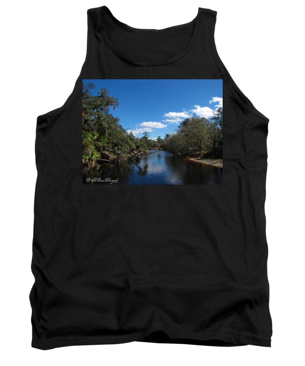 Econlockhatchee River Tank Top featuring the photograph Econlockhatchee River by Barbara Bowen
