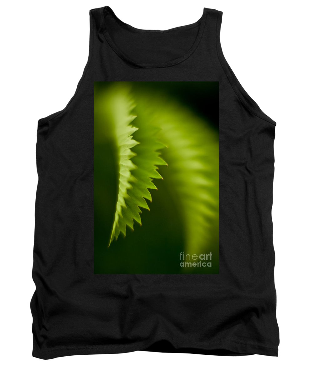 Edge Tank Top featuring the photograph Edges by Mike Reid