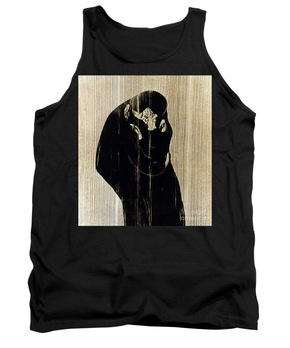 1897 Tank Top featuring the photograph Edvard Munch: The Kiss by Granger