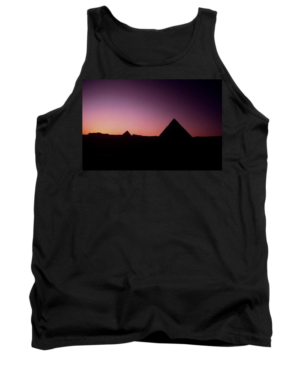 Egypt Tank Top featuring the photograph Egyptian Sunset by Gary Wonning