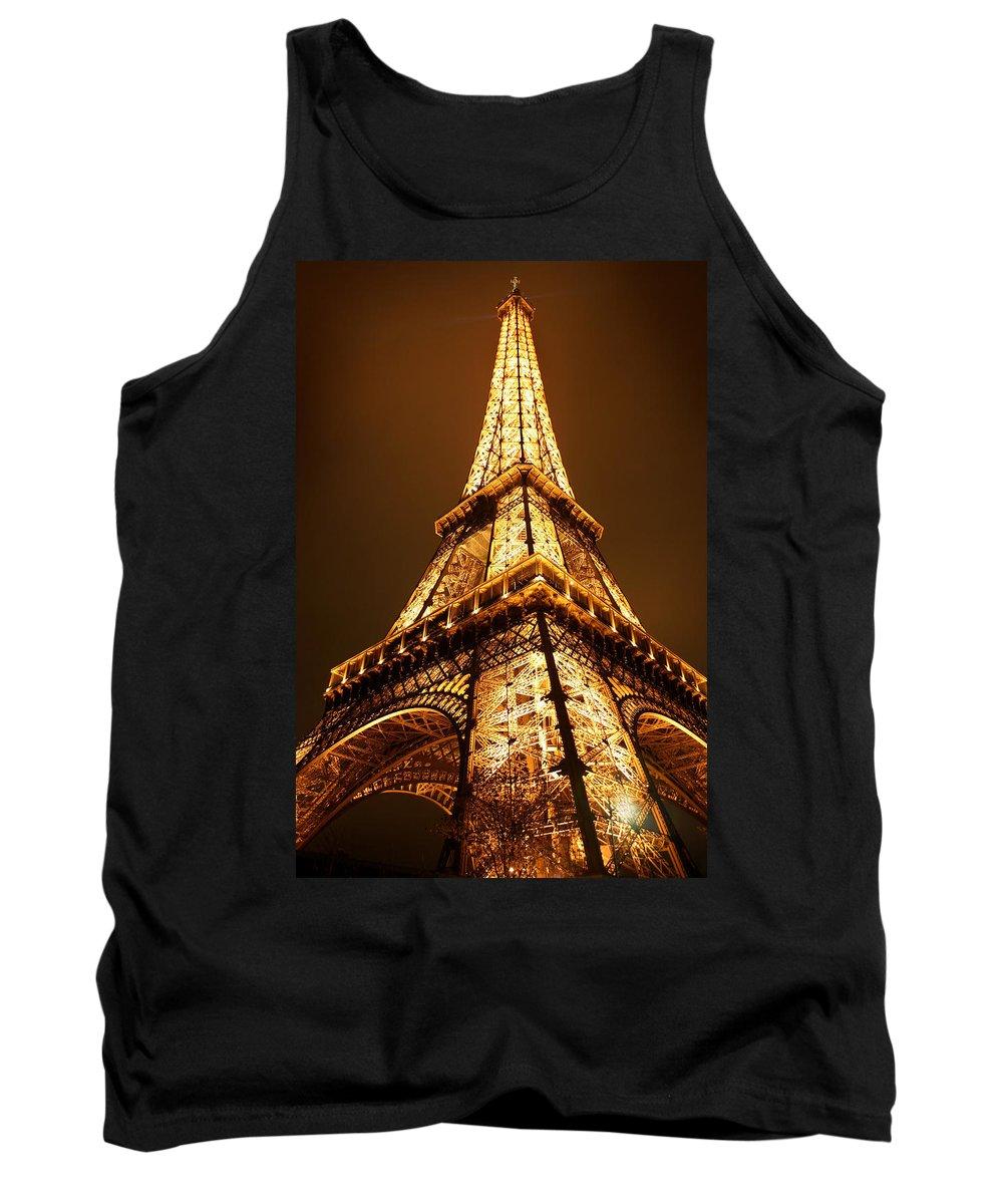 Eiffel Tank Top featuring the photograph Eiffel by Skip Hunt
