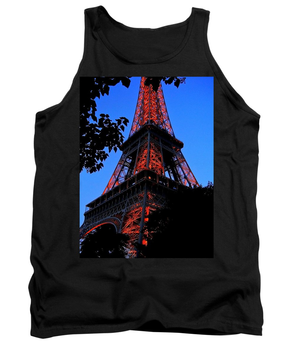 Europe Tank Top featuring the photograph Eiffel Tower by Juergen Weiss