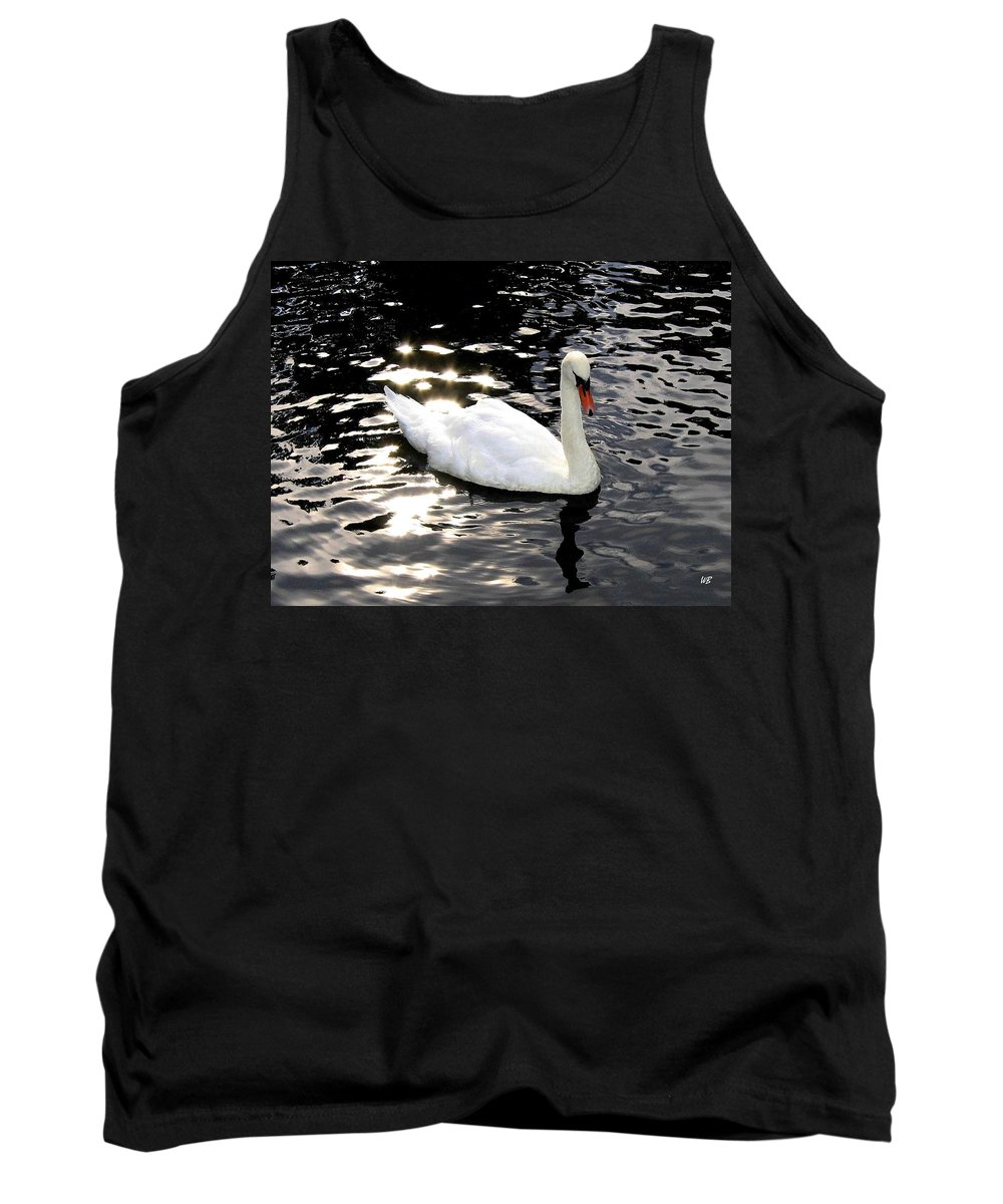 Sun Rays Tank Top featuring the photograph Electric Waters by Will Borden