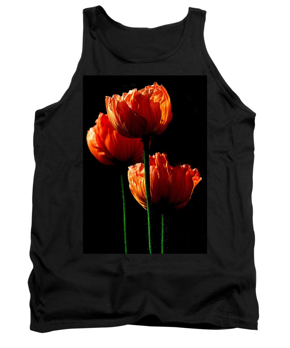 Photograph Tank Top featuring the photograph Elegance by Stephie Butler