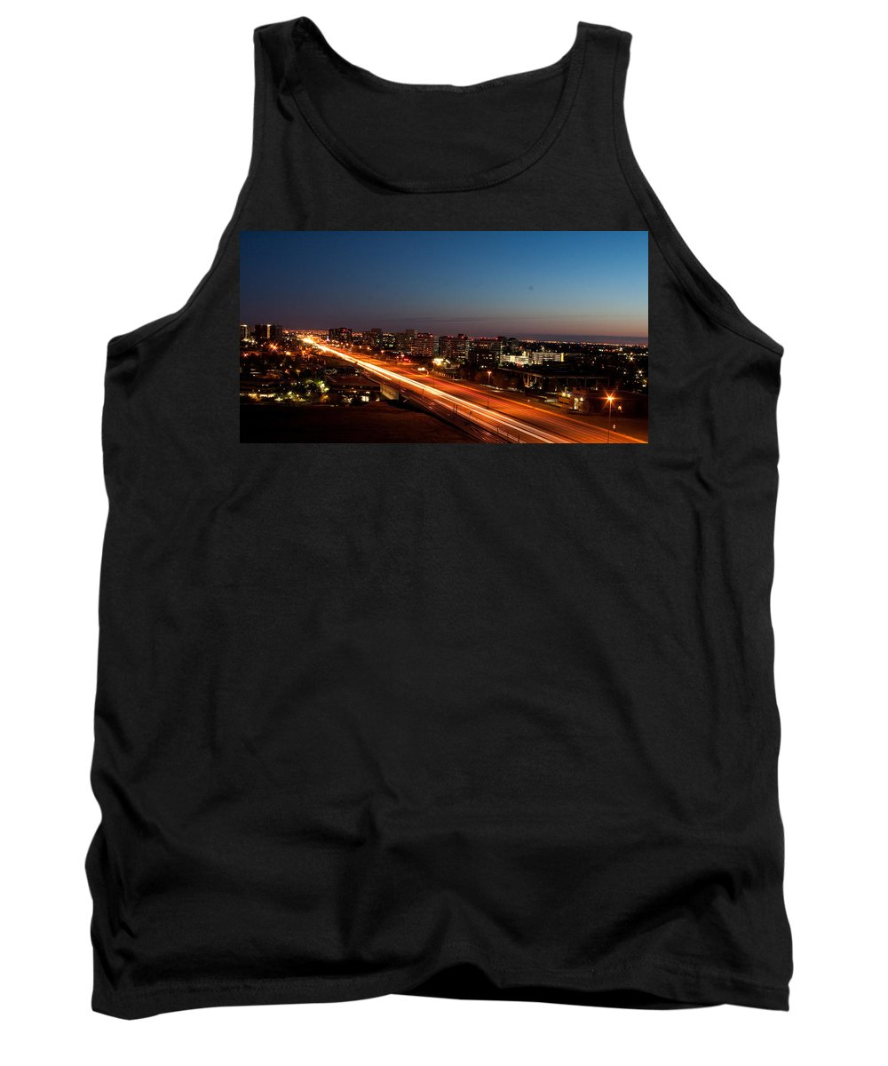 Night Tank Top featuring the photograph End Of Day by Angus Hooper Iii