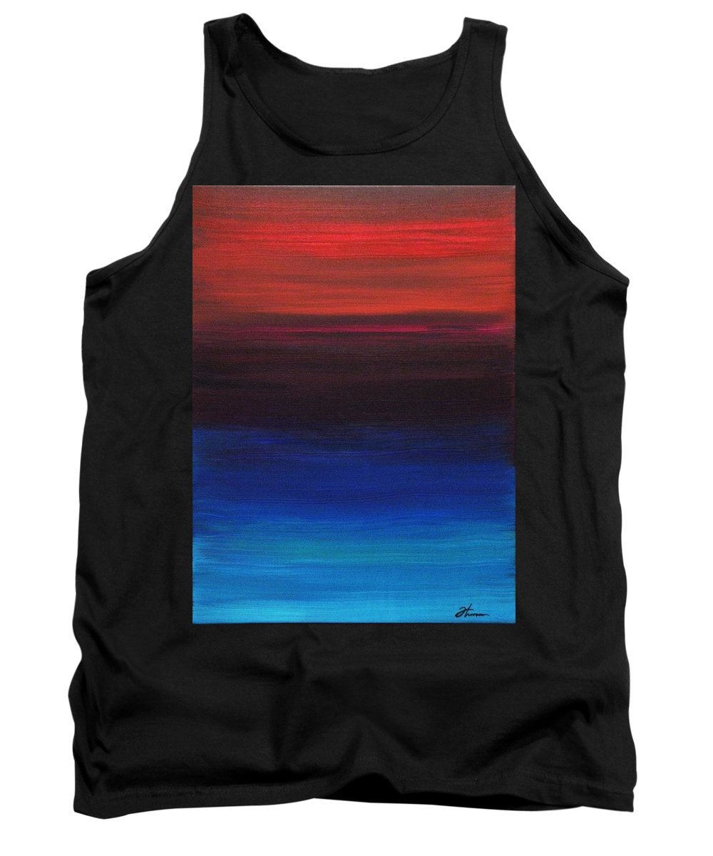 Original Tank Top featuring the painting Endless by Todd Hoover