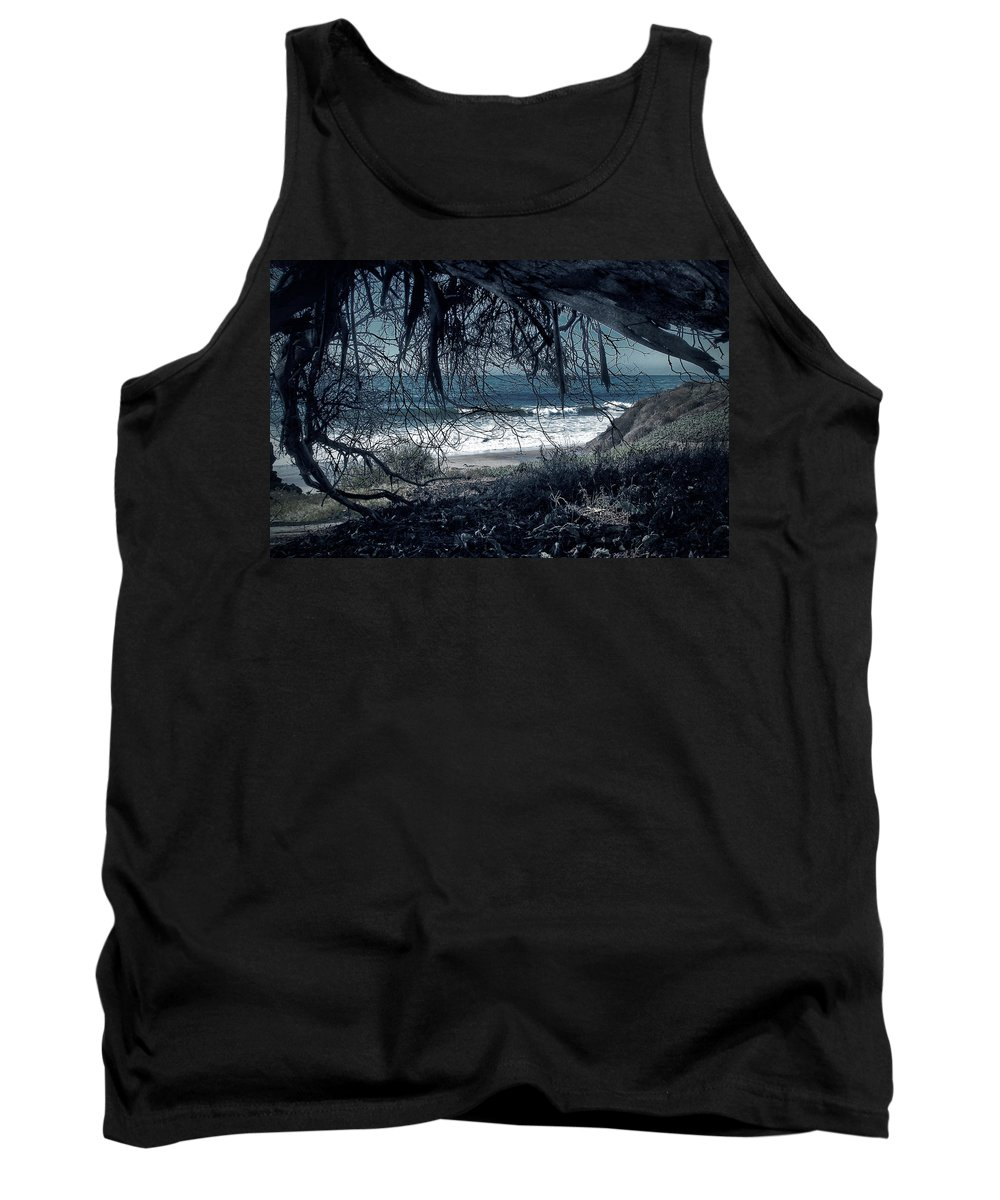Dark Tank Top featuring the photograph Entangled Dreams by John A Royston