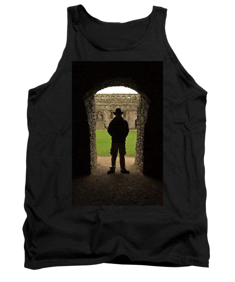 Cathedral Tank Top featuring the photograph Entryway by Scott Sawyer