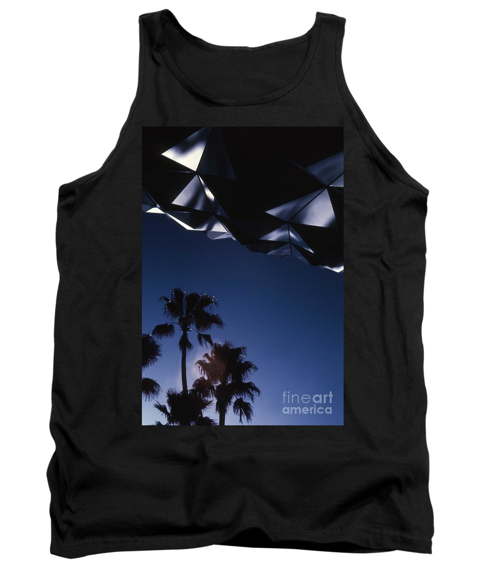 Epcot Tank Top featuring the photograph Epcot Abstract by Richard Rizzo