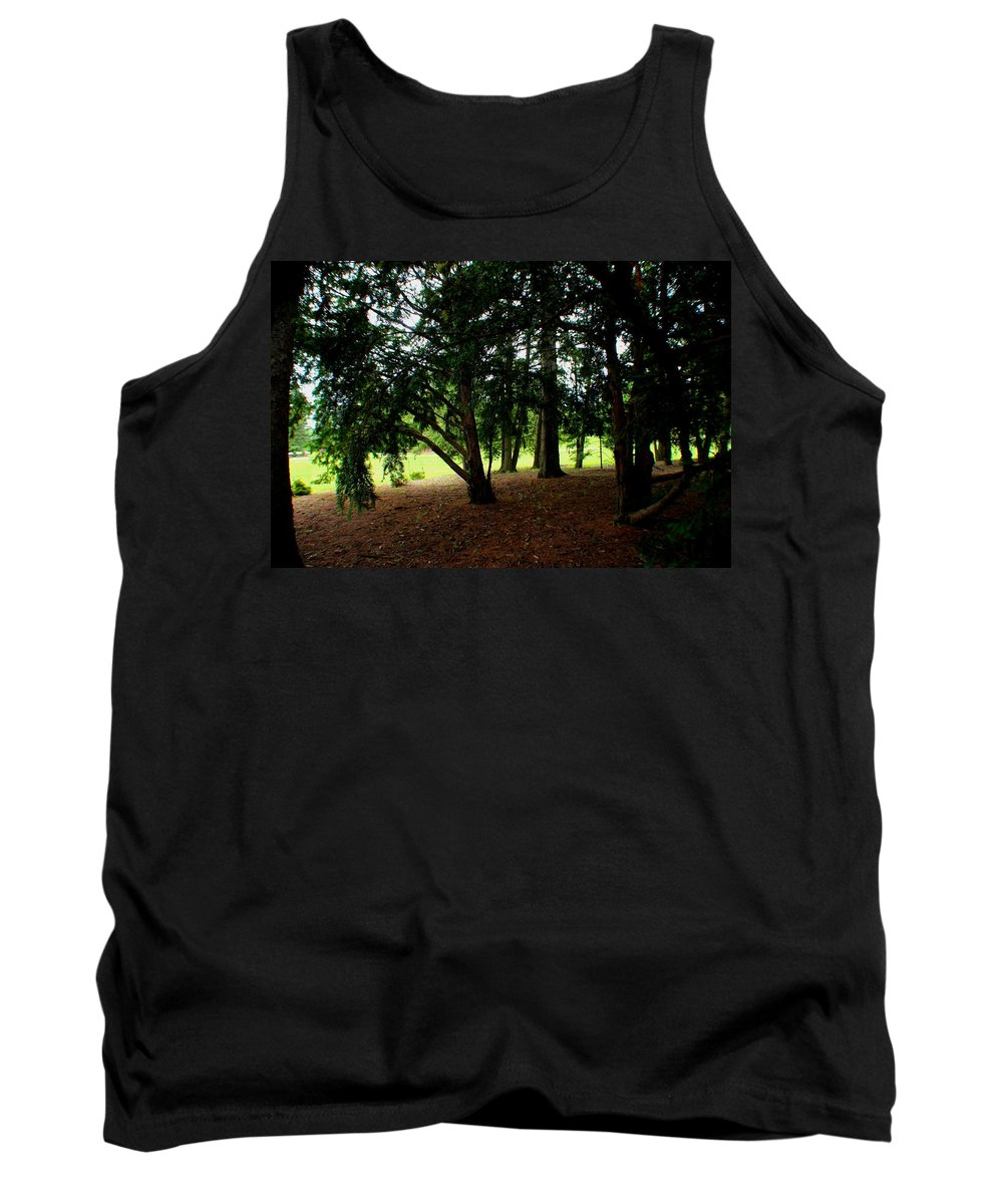 Trees Tank Top featuring the photograph Essence by Jose Corona