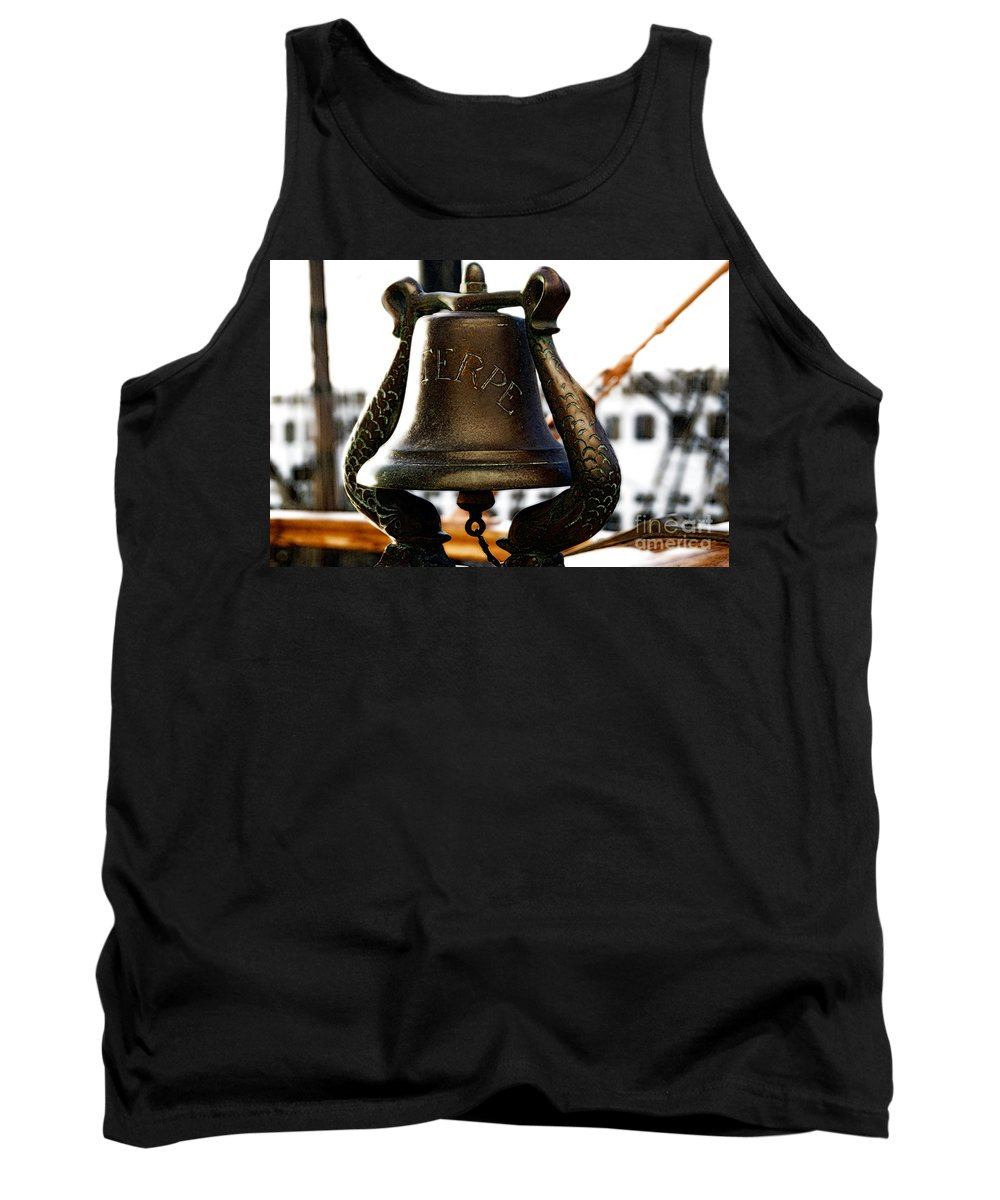 Euterpe Tank Top featuring the photograph Euterpe Bell by Linda Shafer