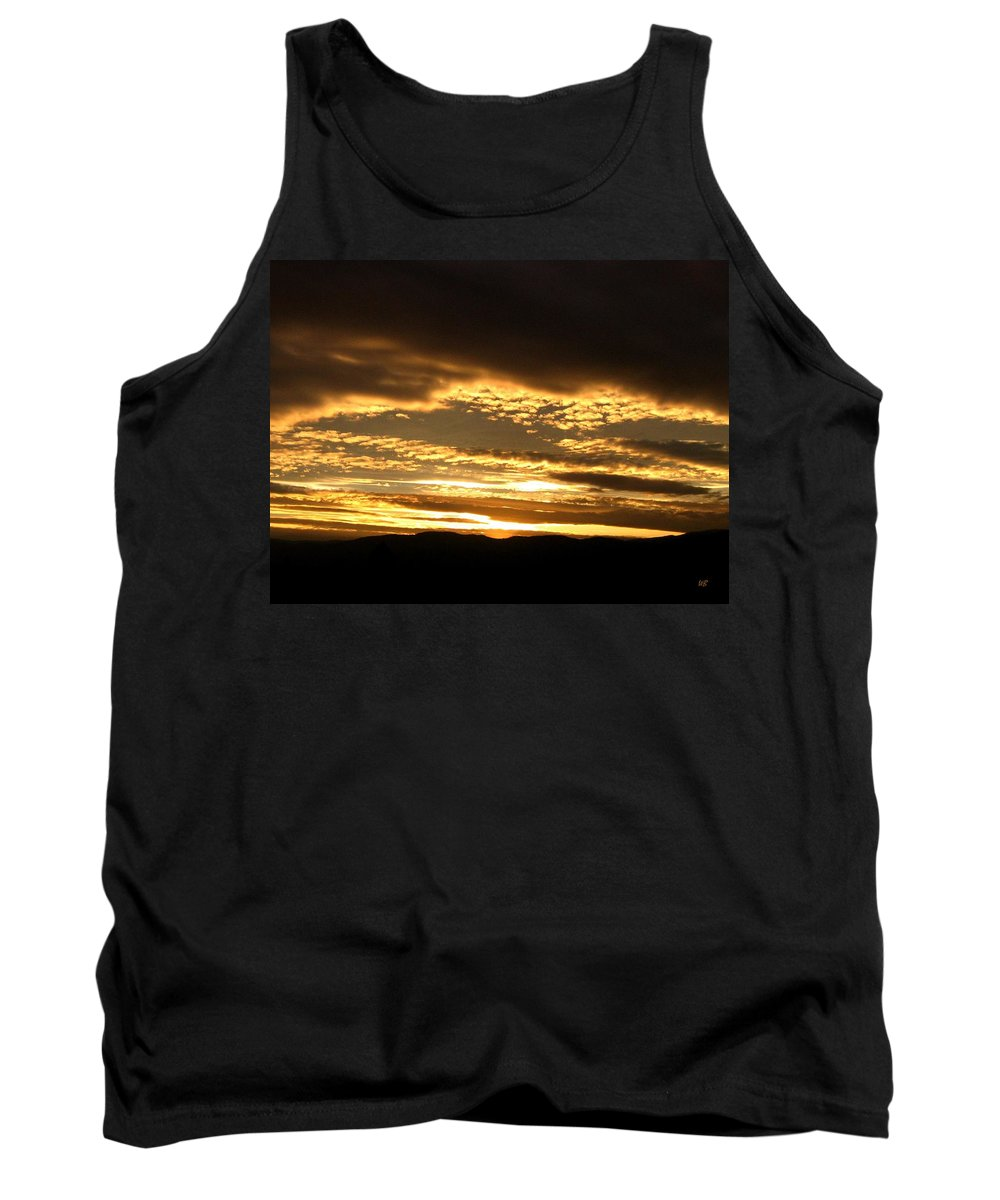Sunset Tank Top featuring the photograph Evening Grandeur by Will Borden