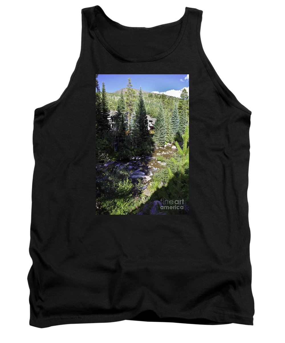 Vail Tank Top featuring the photograph Ever Vail by Madeline Ellis