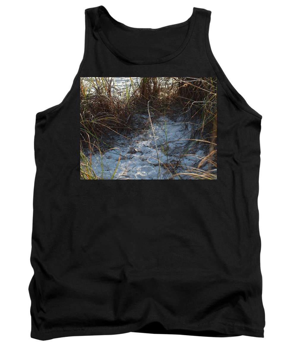 Tank Top featuring the photograph Everything Grows In The Sand by Robert Margetts