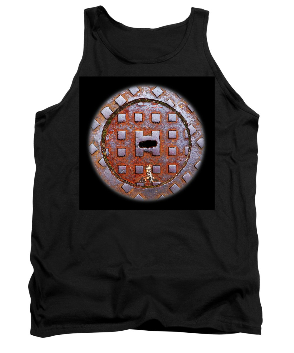 Face Tank Top featuring the photograph Face by Charles Stuart