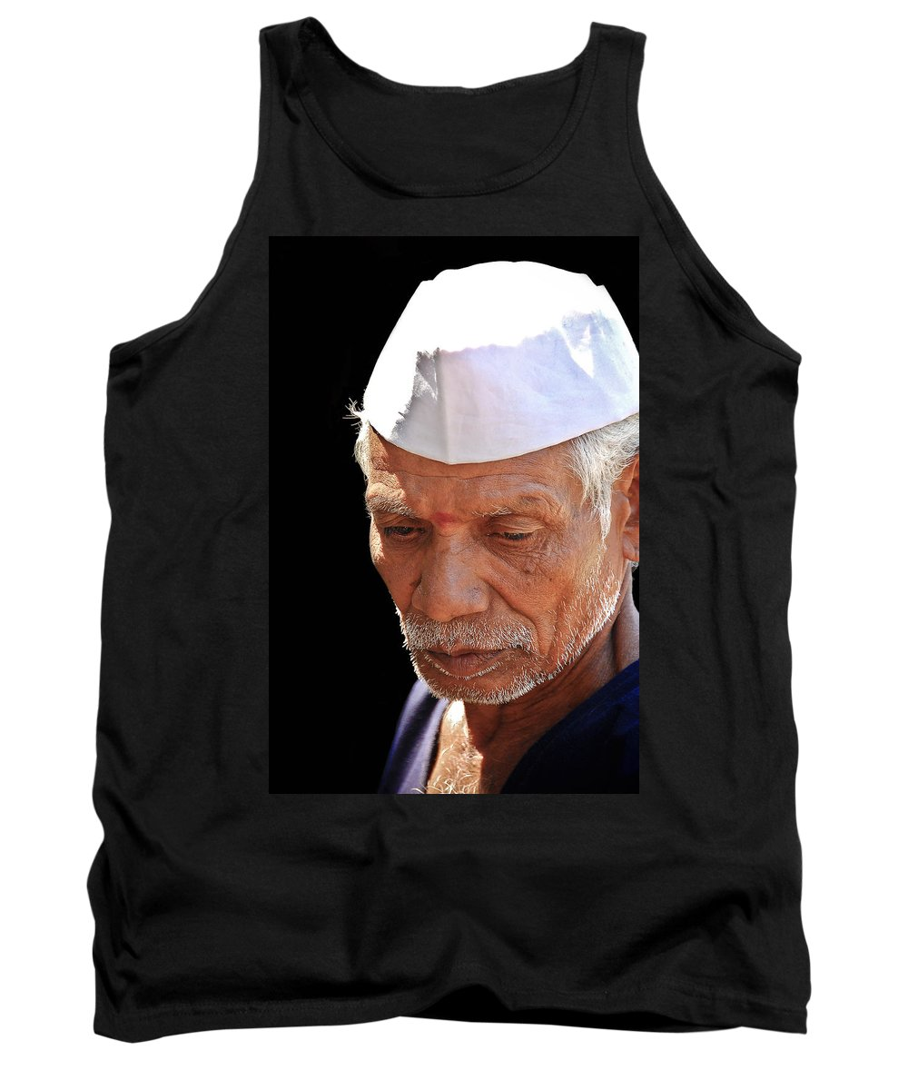 Tank Top featuring the photograph Face by Charuhas Images