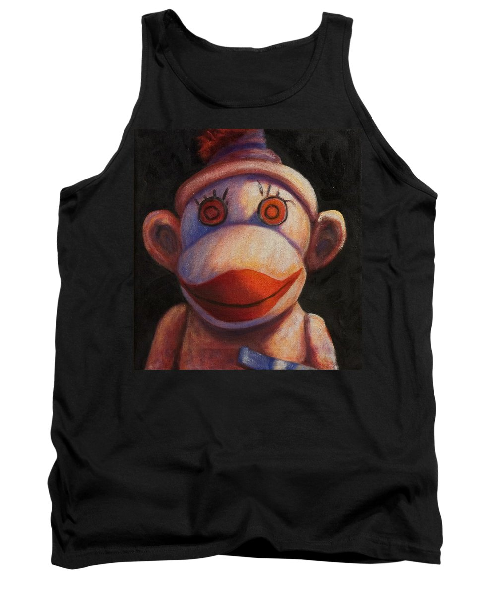 Children Tank Top featuring the painting Face by Shannon Grissom