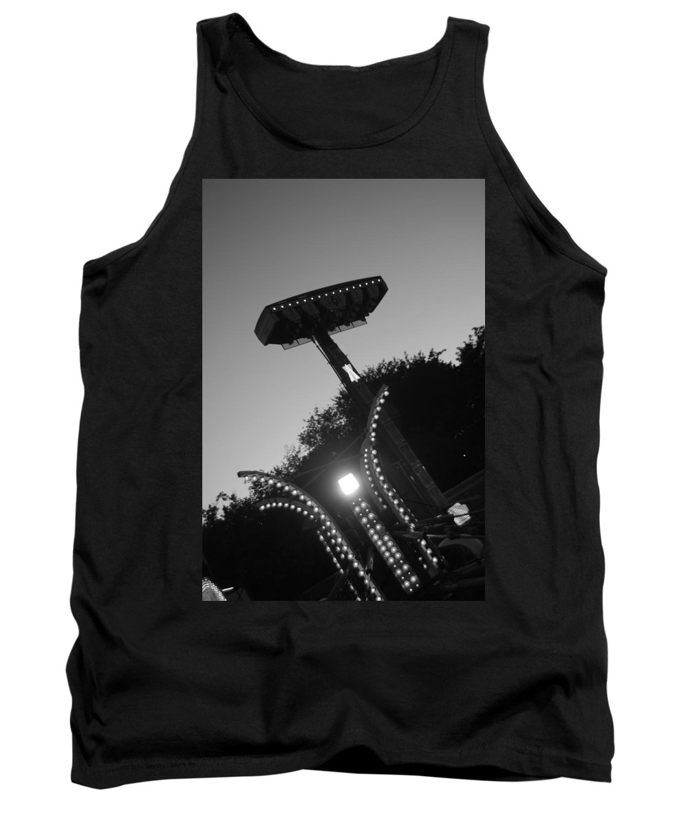 Black And White Photography Tank Top featuring the photograph Fair Call by Trish Hale