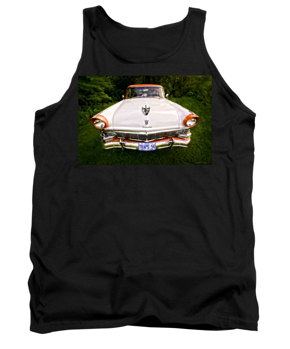 Transportation Tank Top featuring the photograph Fairlane by Jerry Golab