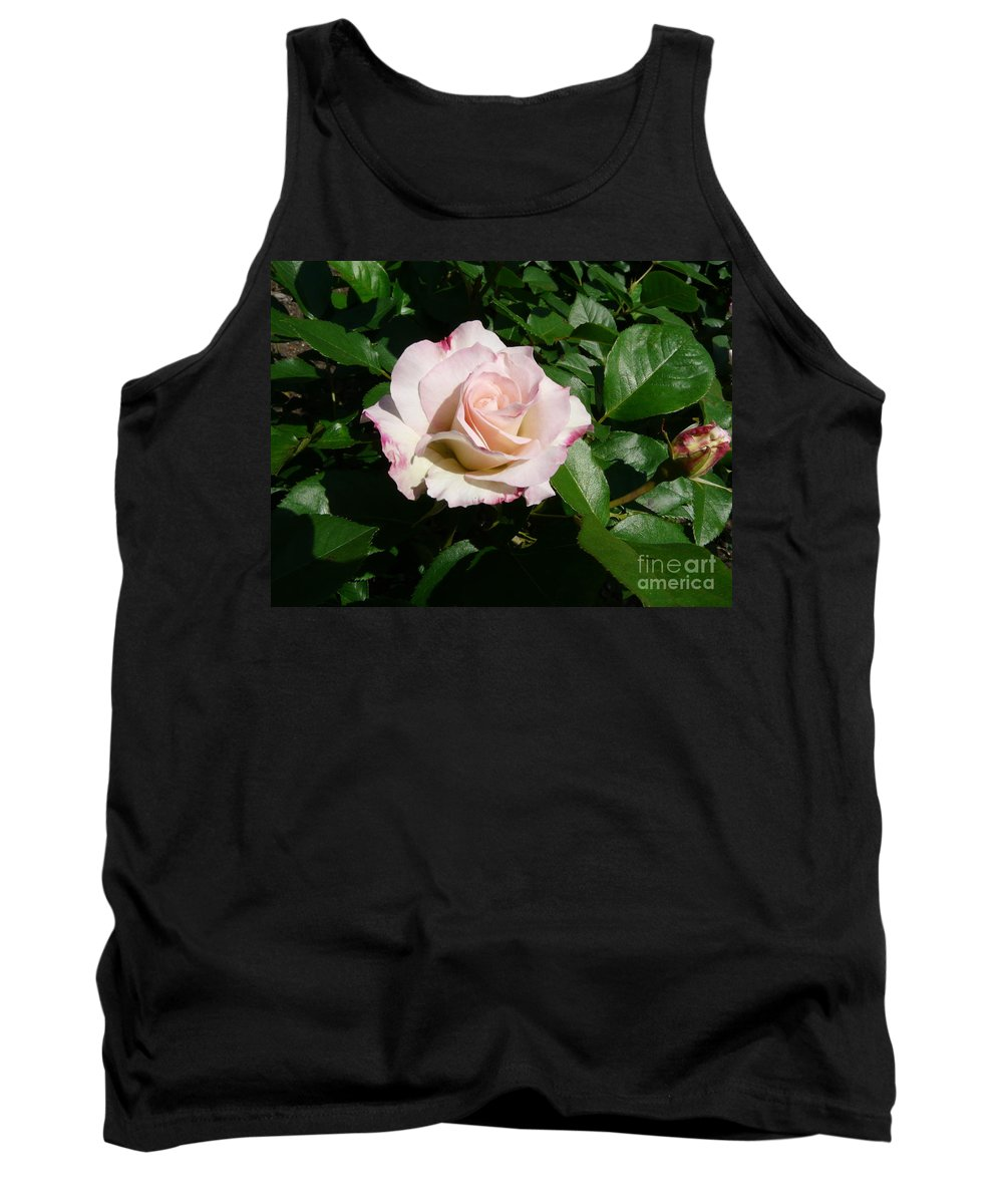 Rose Tank Top featuring the photograph Fait Accompli by Kendall Eutemey