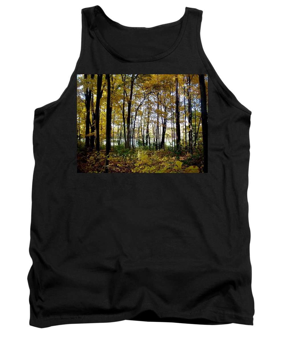 Fall Tank Top featuring the photograph Fall Series 3 by Anita Burgermeister