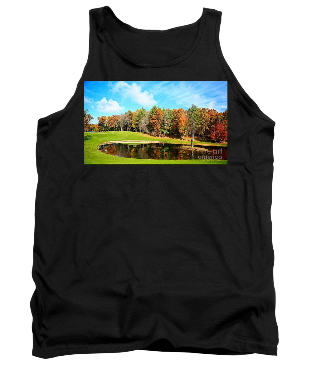 Fall Tank Top featuring the photograph Fall Time by Robert Pearson