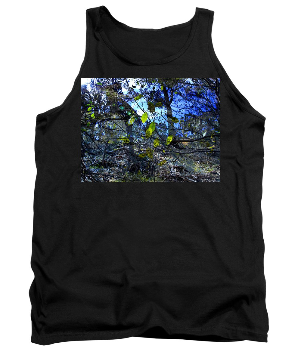 Leaves Tank Top featuring the photograph Falling Leaves by Kelly Jade King