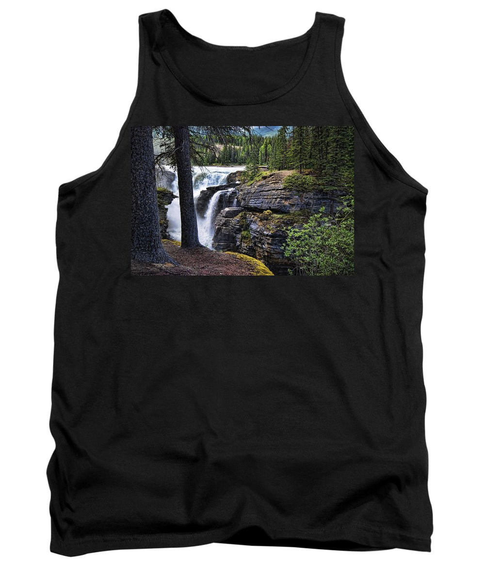 Canada Tank Top featuring the photograph Falls 3 by Wayne Sherriff