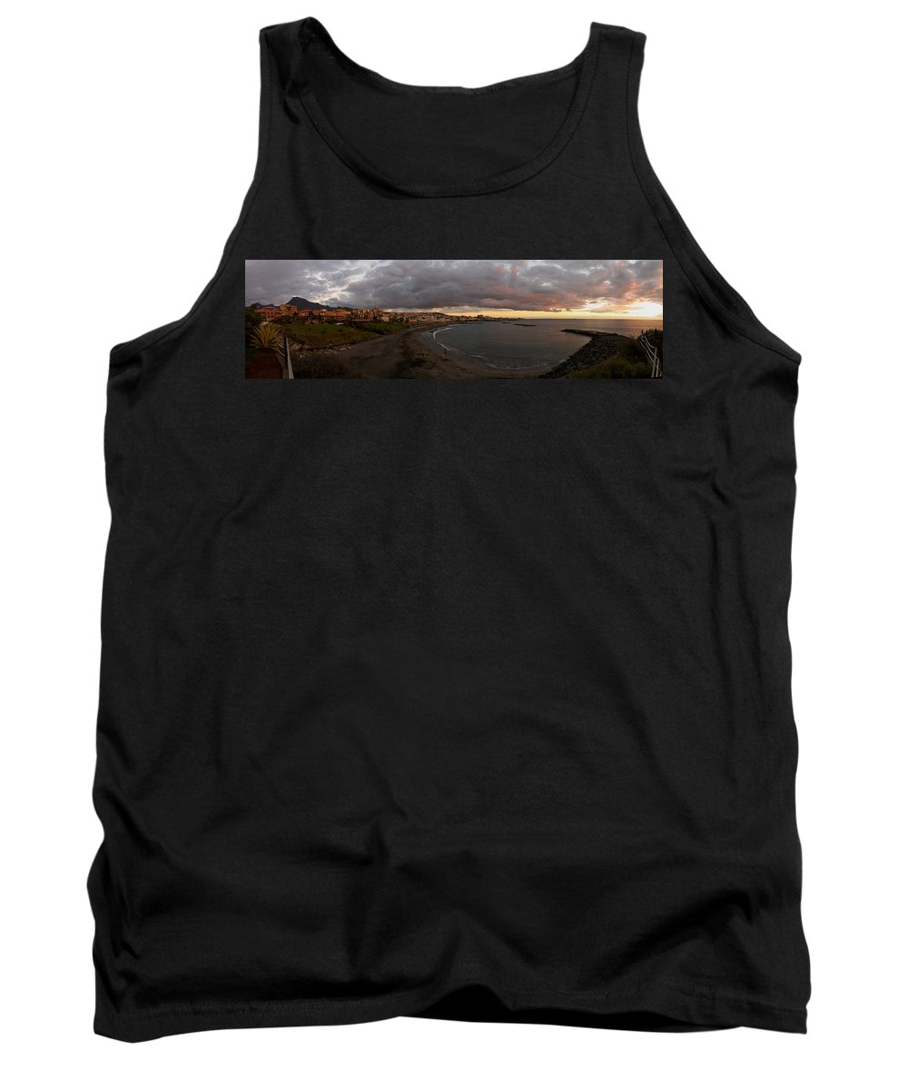 Landscape Tank Top featuring the photograph Fanabe Evening 2 by Jouko Lehto