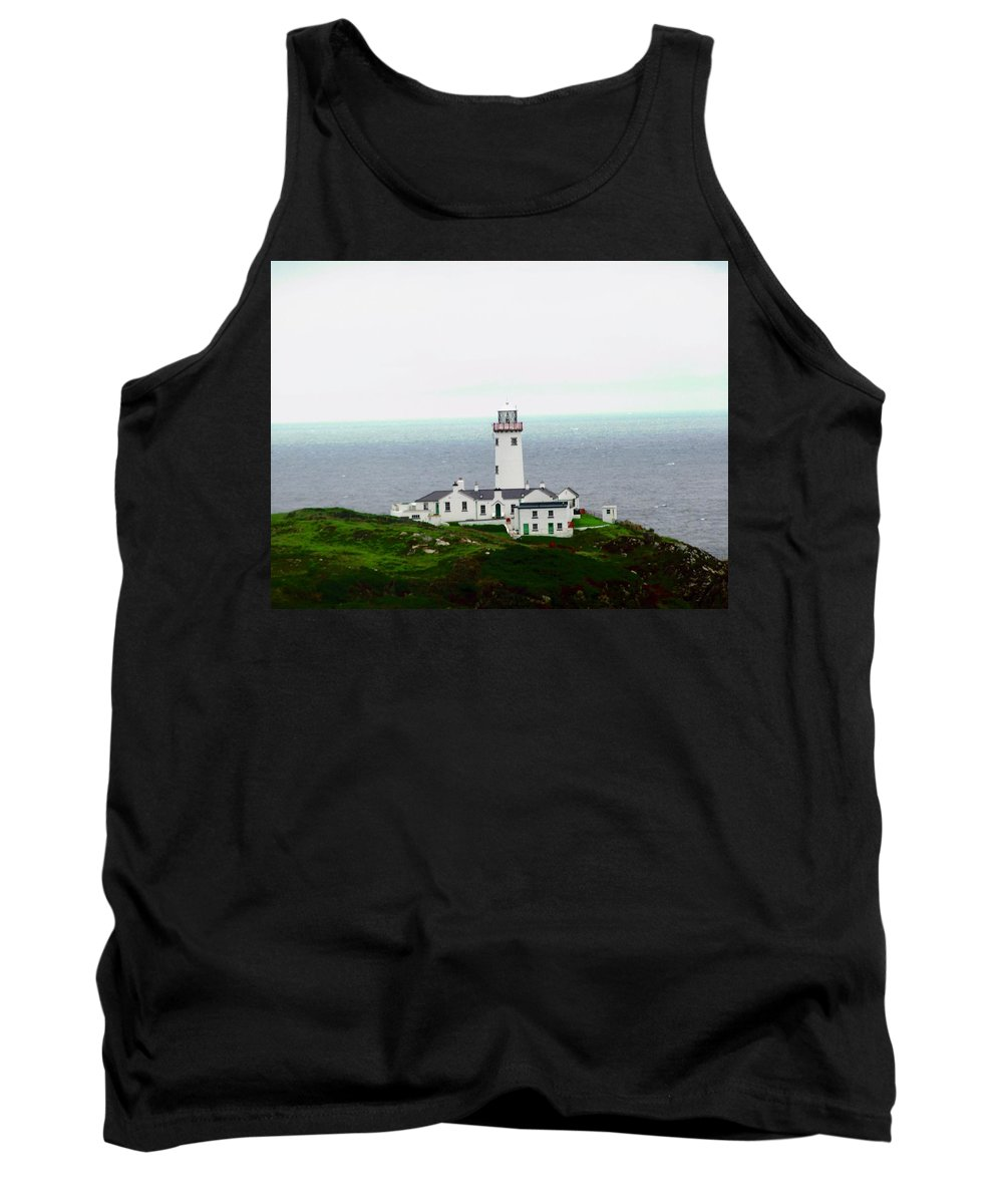 Lighthouse Tank Top featuring the photograph Fanad Head Lighthouse by Stephanie Moore