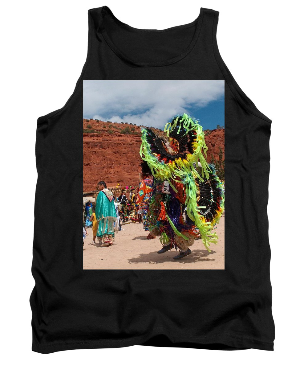 Fancy Dancer Tank Top featuring the photograph Fancy Dancer by Tim McCarthy