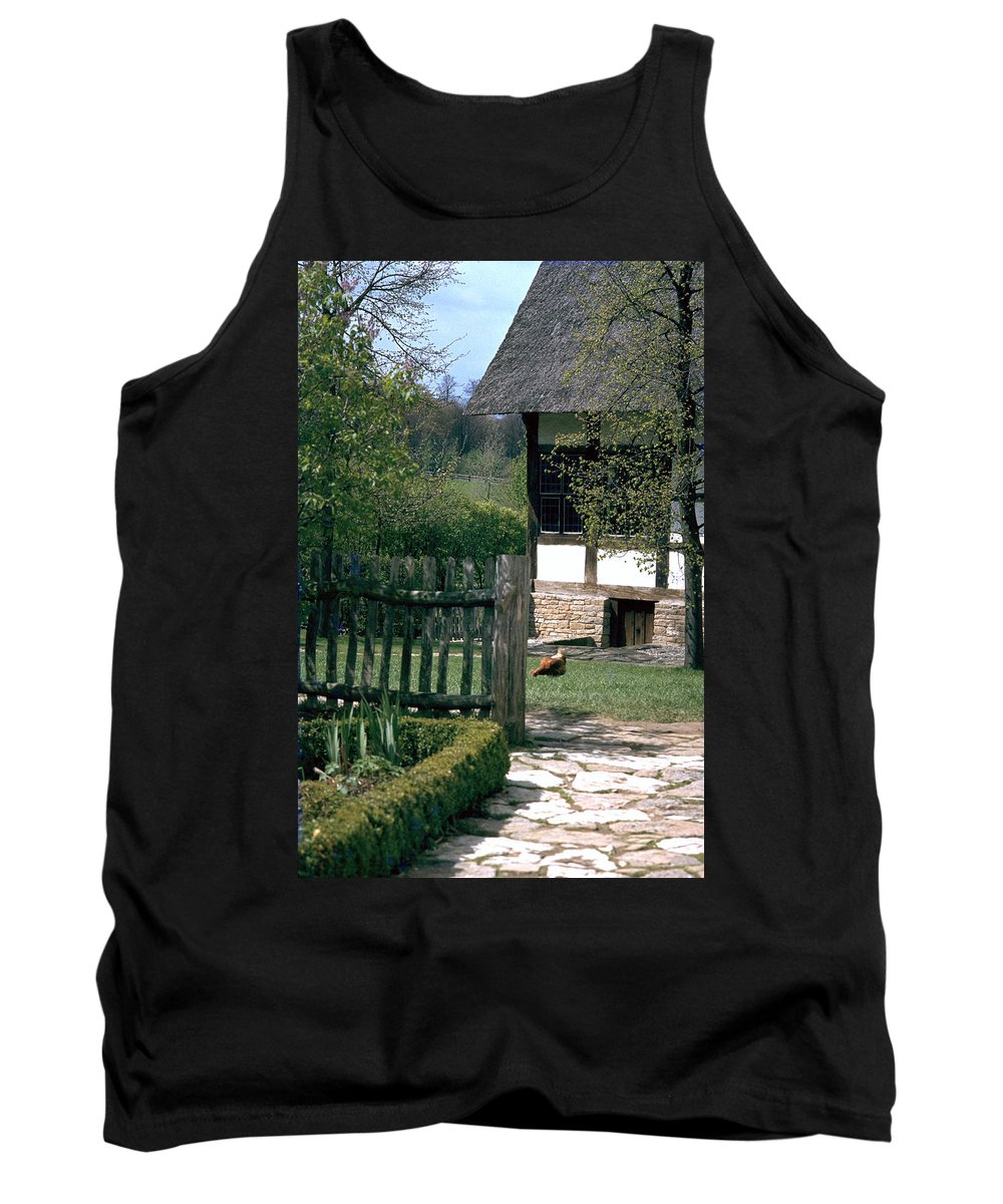 German Tank Top featuring the photograph Farm by Flavia Westerwelle