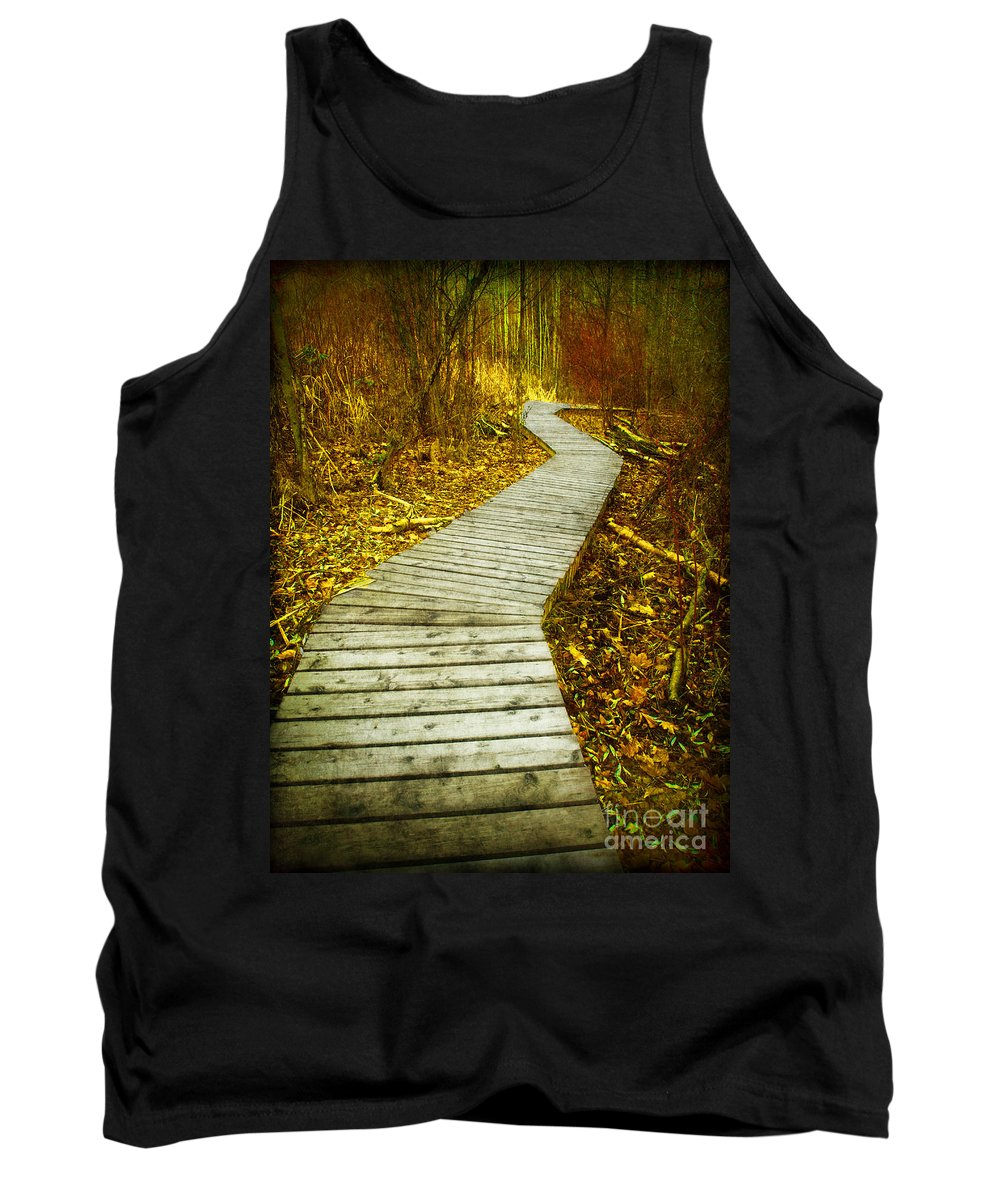 Boarwalk Tank Top featuring the photograph February 9 2010 by Tara Turner