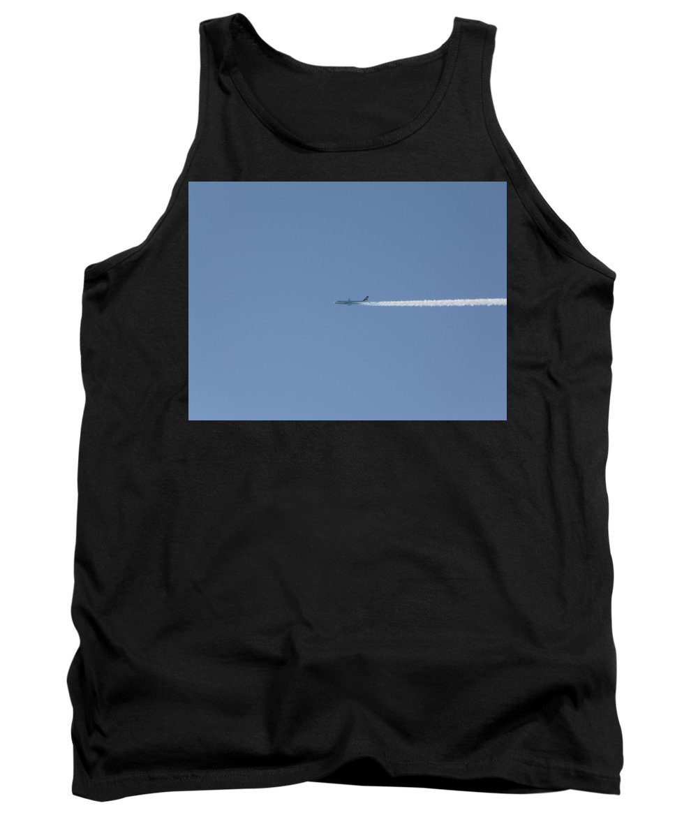 Plane Tank Top featuring the photograph Fellow Plane by Valerie Ornstein