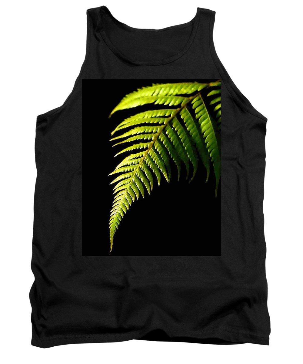 Fern Tank Top featuring the photograph Fern by Dragica Micki Fortuna