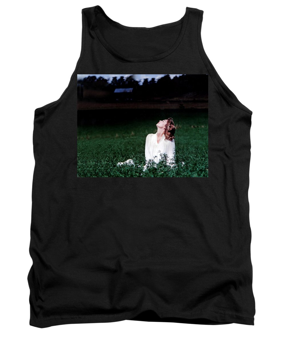 Woman Tank Top featuring the photograph Field Of Dreams by D'Arcy Evans