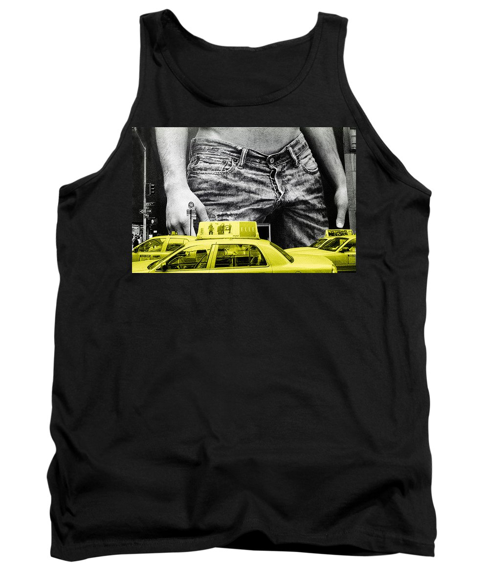 Photo Tank Top featuring the photograph Fifth Avenue- Ny by Enrique Crusellas