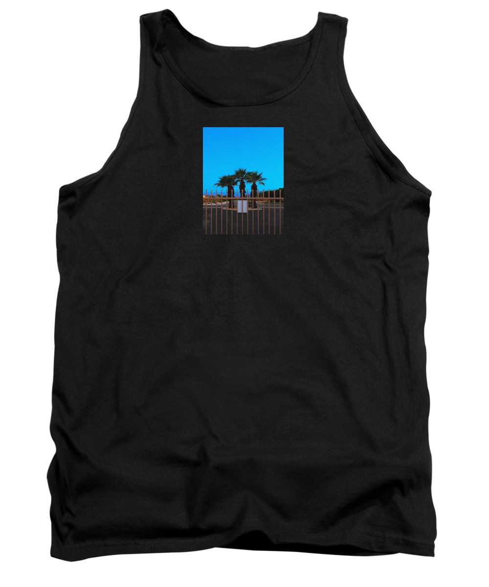 Landscaping Tank Top featuring the photograph Fire Entrance No Exit by Stan Magnan