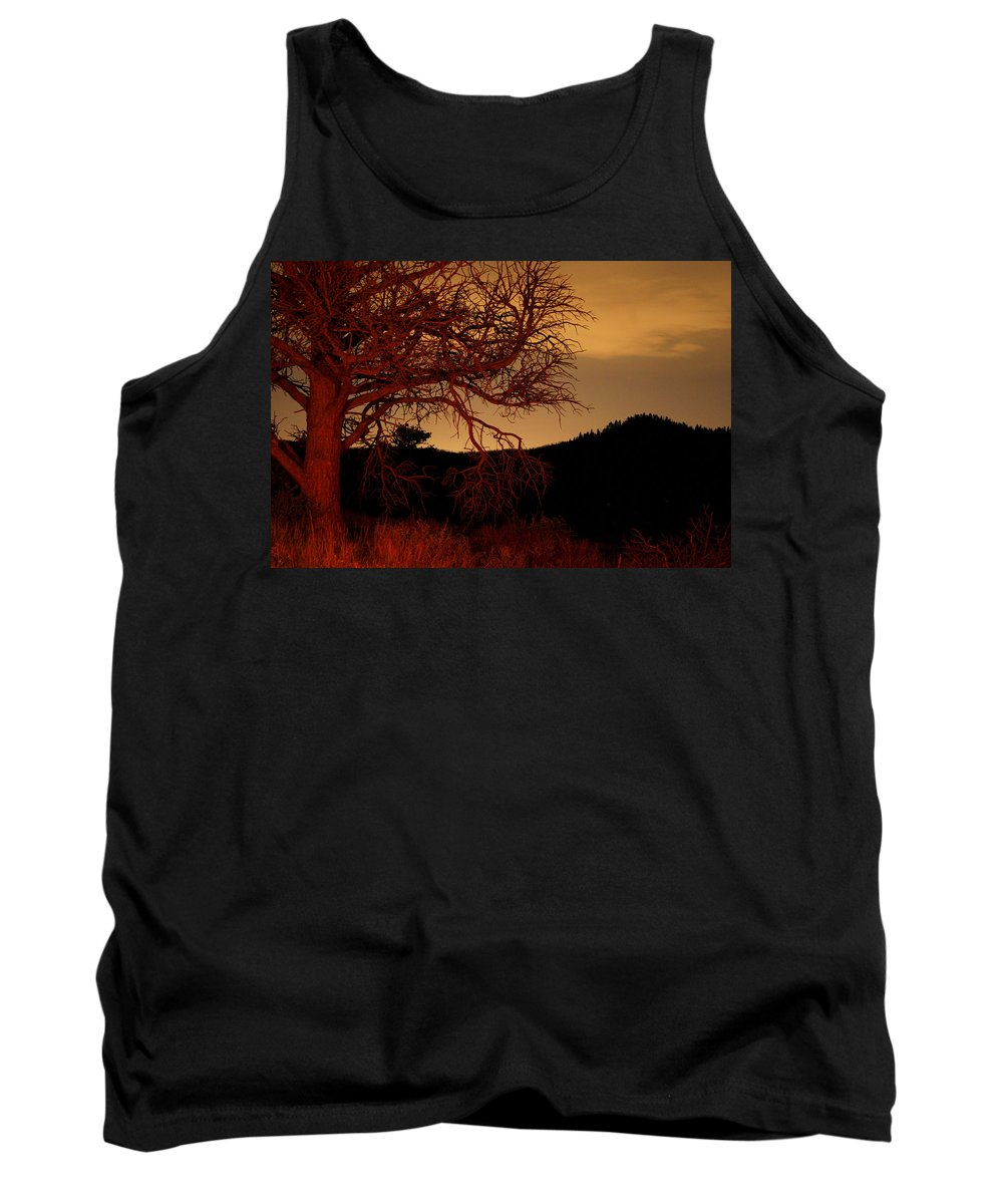 Landscape Tank Top featuring the photograph Fire Tree by Jeffery Ball