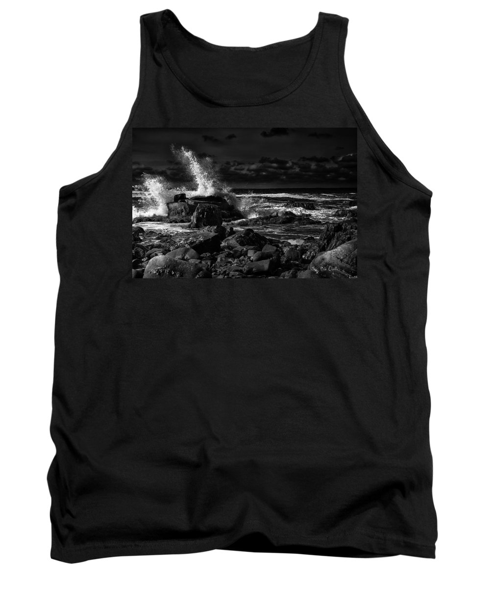 Sunrise Tank Top featuring the photograph First Light - Kennebunkport Maine by Bob Orsillo