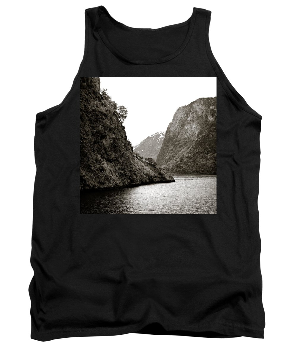 Norway Tank Top featuring the photograph Fjord Beauty by Dave Bowman