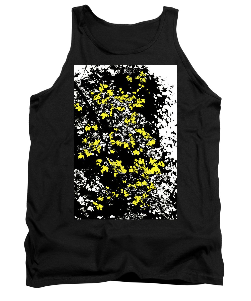 Motif Tank Top featuring the photograph Floral Surprise by Pierre Logwin