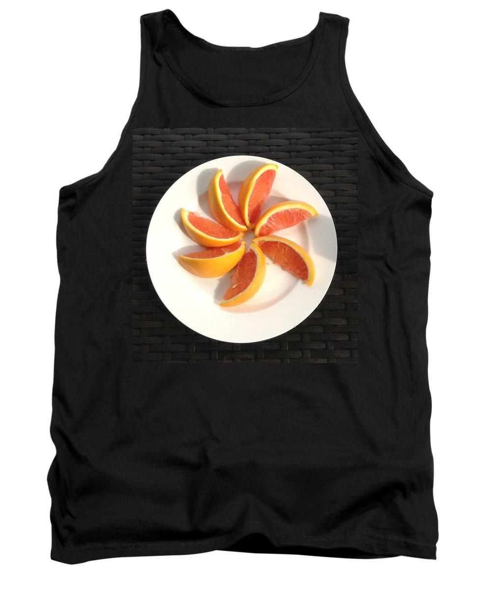 Citrus Tank Top featuring the photograph Florida Fruit by Lisa Cassinari