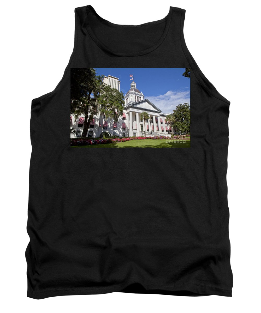 Florida Tank Top featuring the photograph Florida State Capitol Building by Anthony Totah