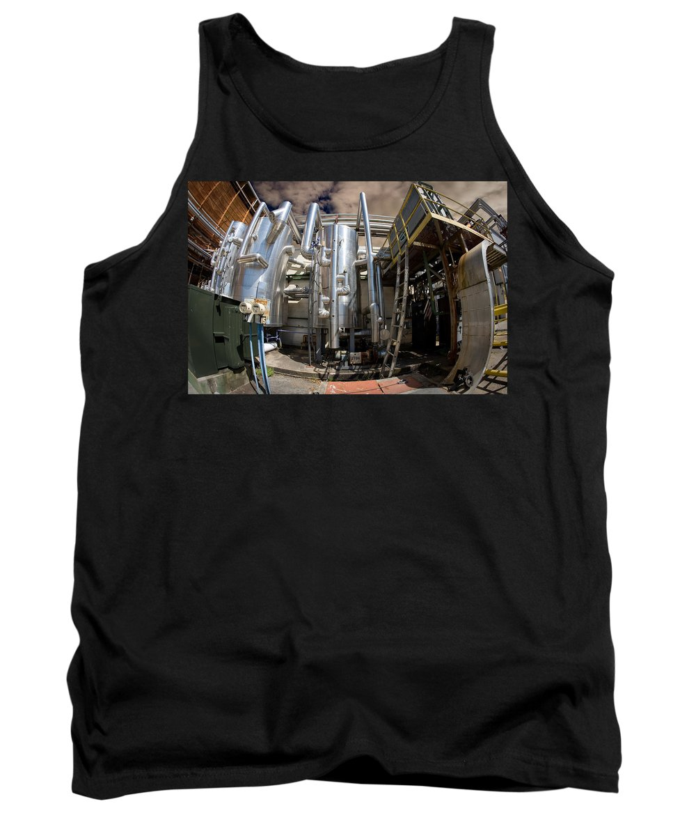 Industrial Tank Top featuring the photograph Florida's Natch'l by Steven Hlavac