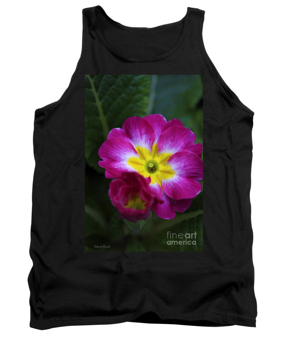 Flower Tank Top featuring the photograph Flower In Spring by Deborah Benoit