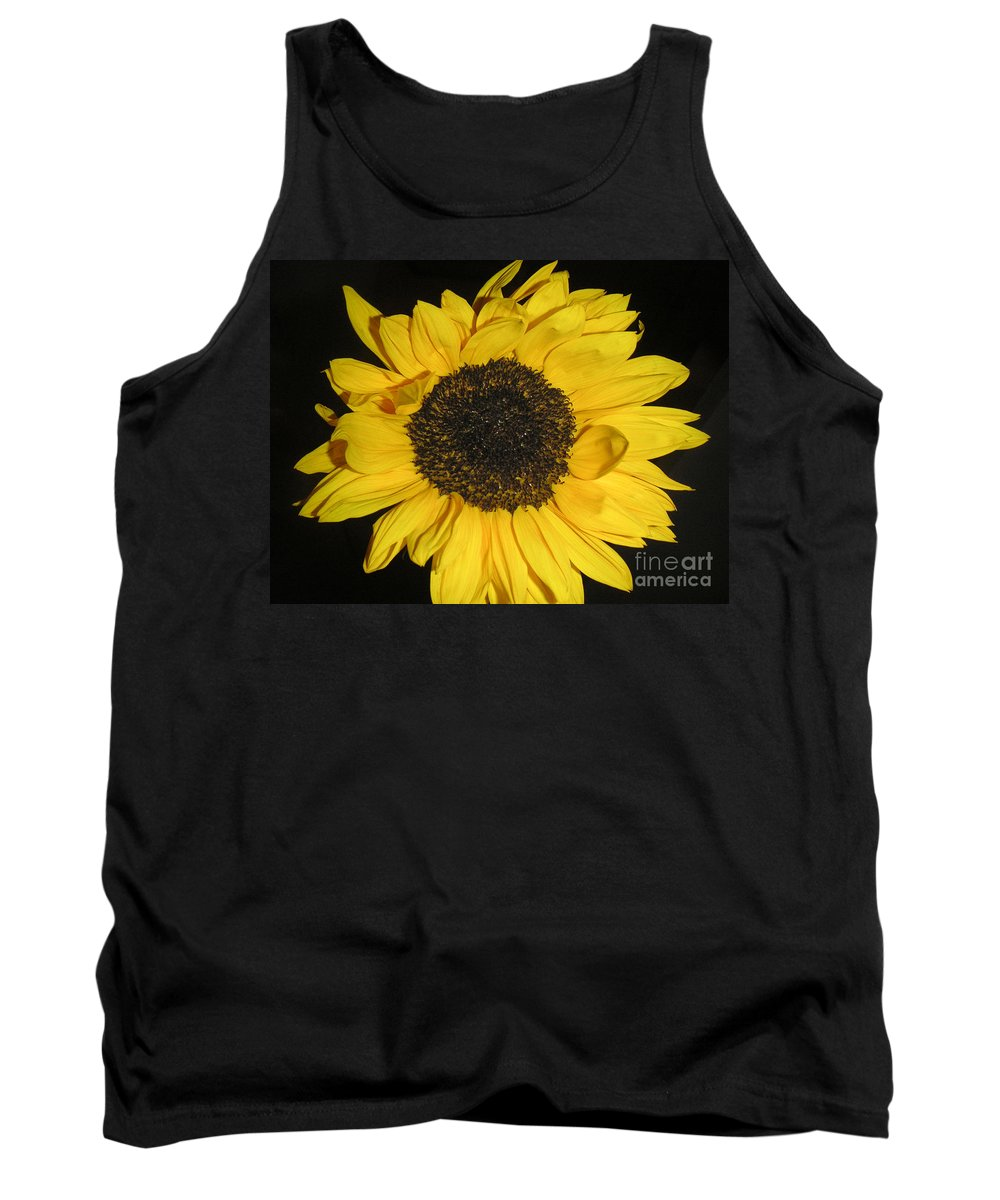 Nature Tank Top featuring the photograph Flower Of The Sun by Lucyna A M Green