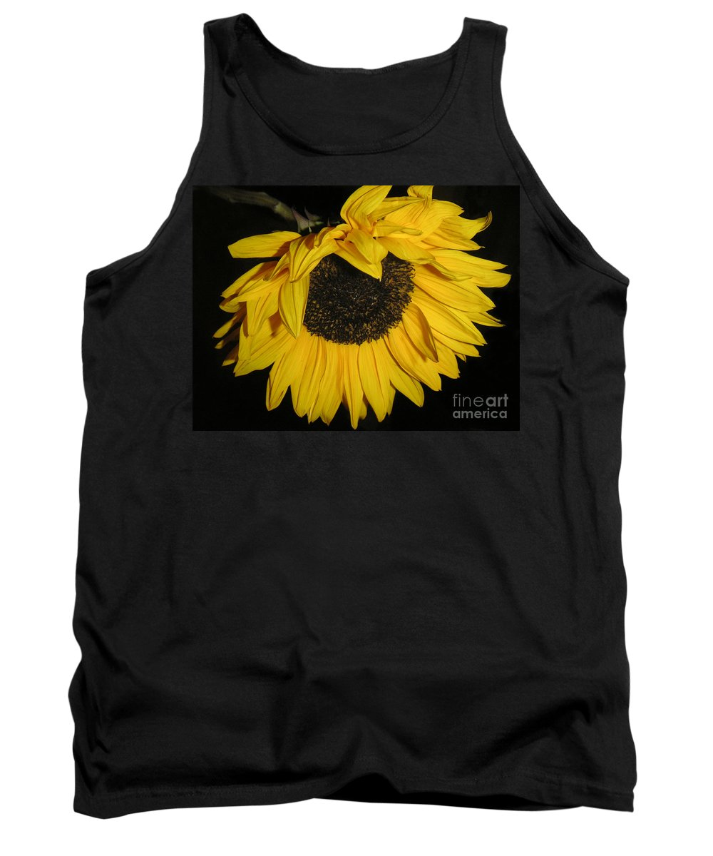 Nature Tank Top featuring the photograph Flower Of The Sun Too by Lucyna A M Green